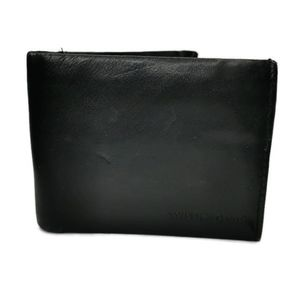 SwissGear Black Genuine Leather Bifold Wallet